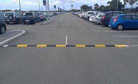 300mm Speed Hump Perth Airport