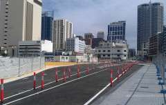 Workzone Bollards Perth Arena1