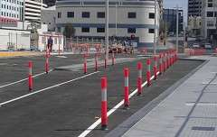 Workzone Bollards Perth Arena2