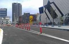 Workzone Bollards Perth Arena4